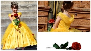 How to sew a Beauty and the Beast inspired costume