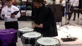 SONOR Gavin Harrison Protean Snares - JoJo Mayer checks the