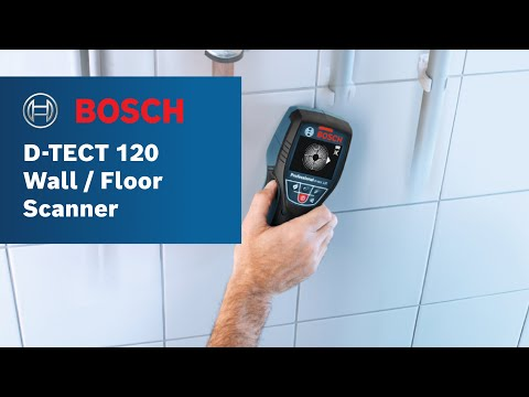 Bosch Power Tools - D-Tect 120 Wall/Floor Scanner Product Video