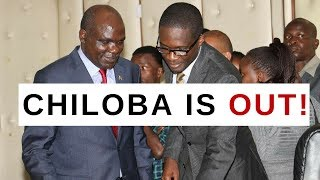 BREAKING NEWS: Ezra Chiloba is Out of IEBC after Akombe..