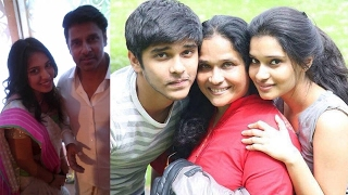 Actor Chiyaan Vikram Family Photos with Wife, Son, Daughter- New 2017