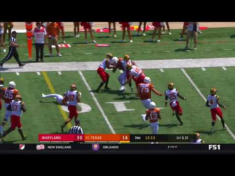 Maryland vs Texas 2017-- Shortened
