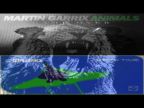 Animals vs Game Over vs Party Time (Martin Garrix Mashup)