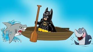 История про одно весло. Новые Лего мультики. Мультфильмы 2018 Бэтмен и Джокер