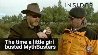 How A Little Girl Busted The MythBusters