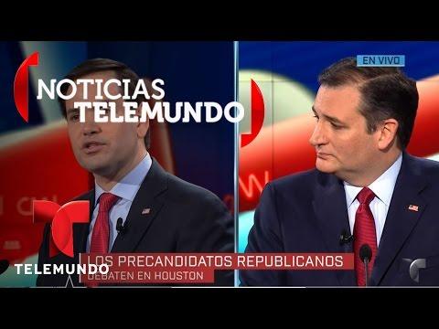 Debate republicano de Telemundo en Houston, Texas 2/4 | Noticias | Noticias Telemundo