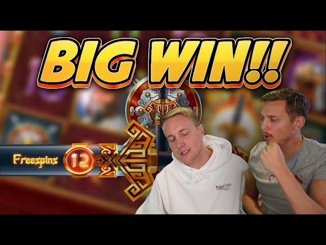 HUGE WIN! Sword of Khans BIG WIN - Online Slots from Casinodaddys live stream