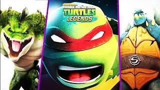 TMNT Ninja Turtles: Legends | New INCOMING HEROES In The Mutanimals Clan Leatherhead Pigeon Pete