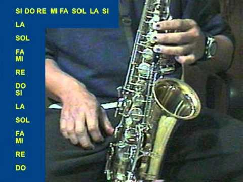 Las Escalas en Sax Alto (2a.Parte) IN OUT ESTUDIO CD. ACUÑA