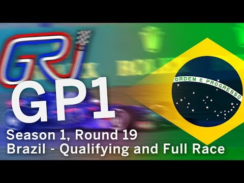Global Racing League - Season 1, Round 19 in Brazil (GP1 Full Qualifying and Race)