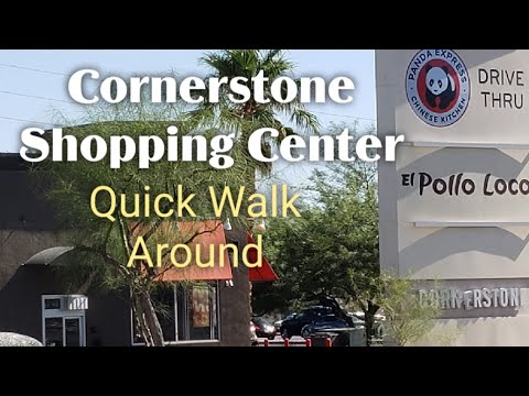 Quick Tour Of Cornerstone Shopping Center - Henderson, NV