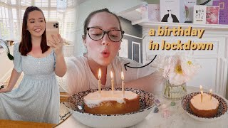 a birthday in lockdown and lots of new home decor! ?