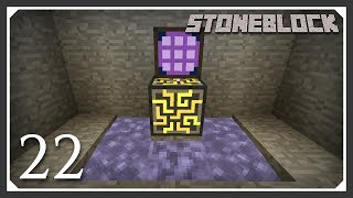 Stoneblock Modpack | Applied Energistics 2 & Molten Infinity! | E22 (Stoneblock Let's Play)