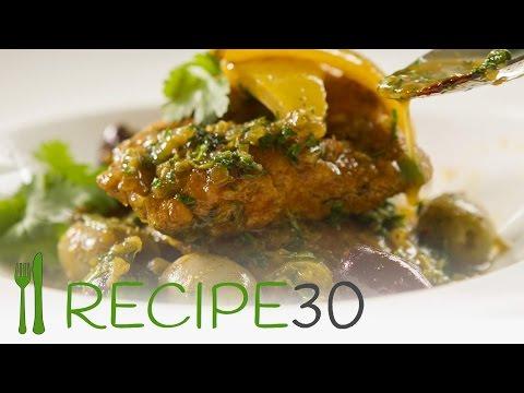 Moroccan  Lemon Chicken Breast - By Www.recipe30.com