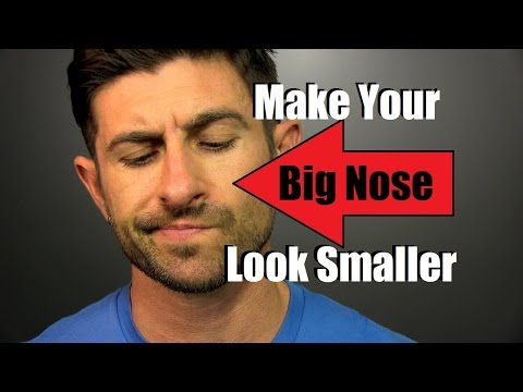 How To Make A BIG Nose Look Smaller | Tutorial |  3 Tips And Tricks