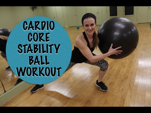Stability Ball Cardio Core Workout