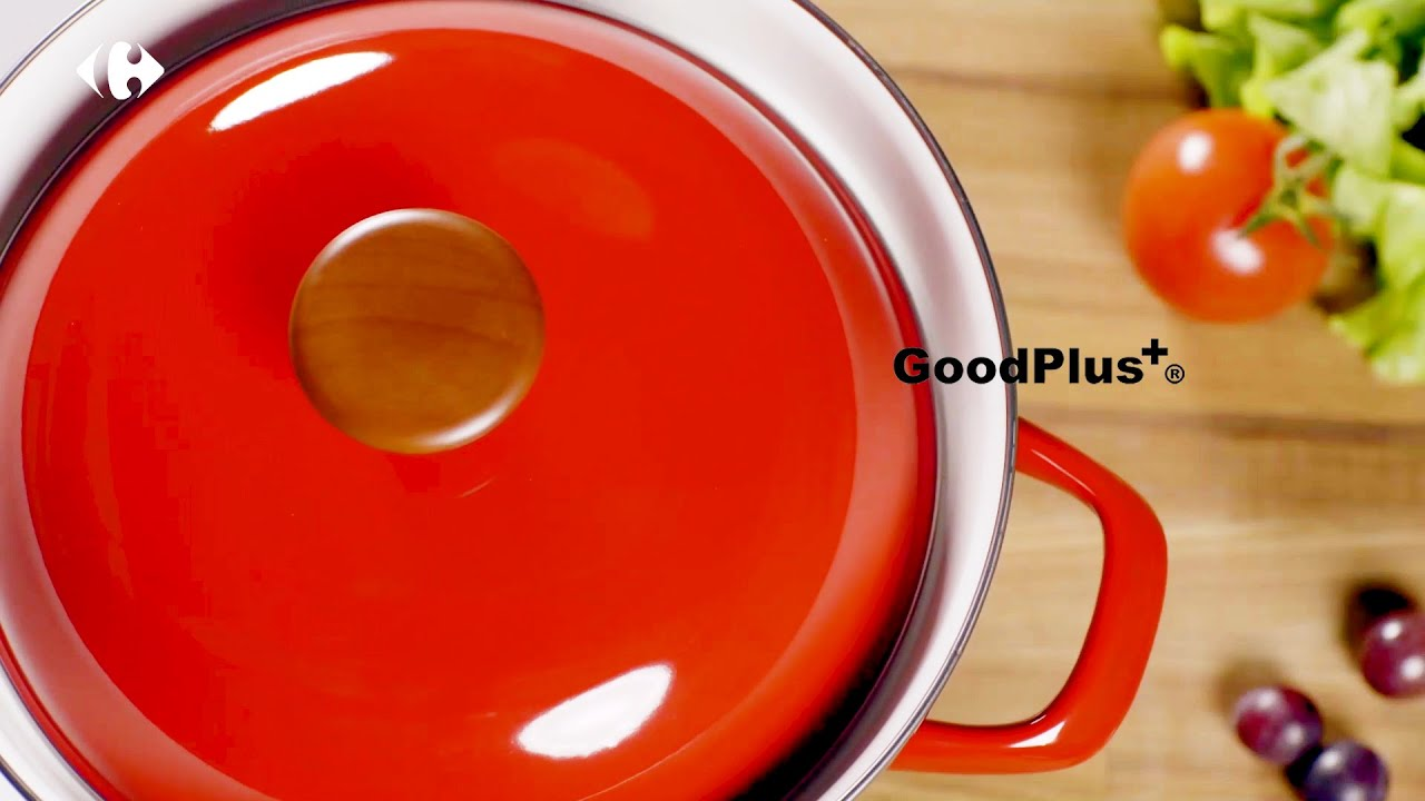 【家樂福集點換購】蒸、煮、燉、炸一鍋萬用!GoodPlus+琺瑯多功能蒸煮鍋巧手變出新花樣~