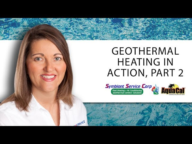 Symbiont Service Corp - Another Look at Our Geothermal Heating Systems in Action