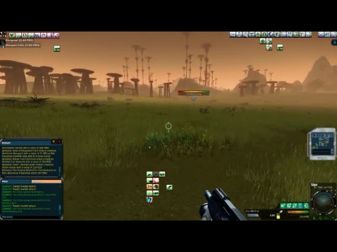 Entropia Universe 100 ped Live Atrox Hunt - Nice Global