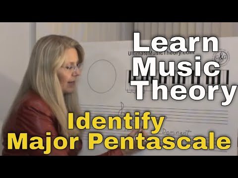 LEARN MUSIC THEORY How to identify - what is a Major Pentascale