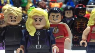 Custom LEGO DC Minifigure Collection Review
