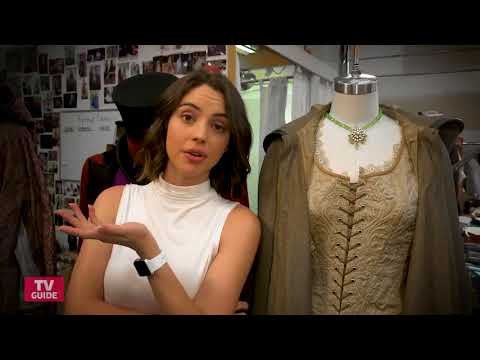 TV Guide  Inside the Once Upon a Time Costume Closet with Adelaide Kane