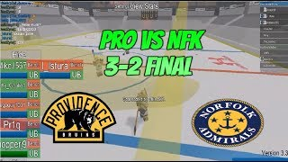 Roblox MPGHL Round 31 PRO VS NFK {3-2 PRO Final Highlights}