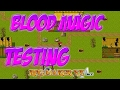 Blood Magic - Testing Cutscenes And Collisions  - RPG Game (RPG Maker VX Ace)