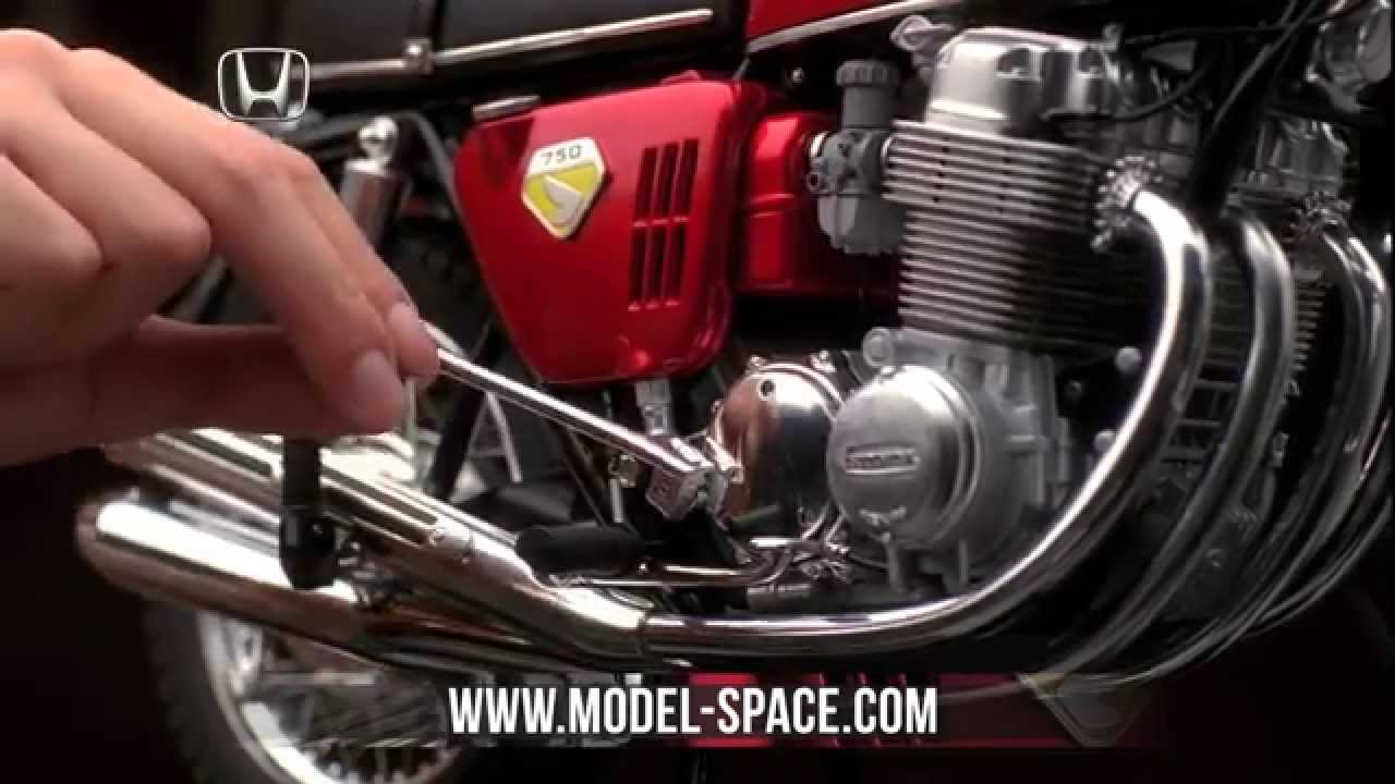 Build The Honda Dream Cb750 Four By Modelspace Youtube