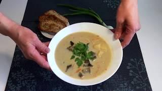 Грибной суп..