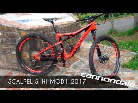 Espectacular Cannondale Scalpel-Si HI-MOD1 2017