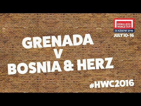 Grenada v Bosnia & Herzegovina | Group A #HWC2016