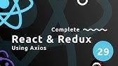 How to use Axios with React - YouTube