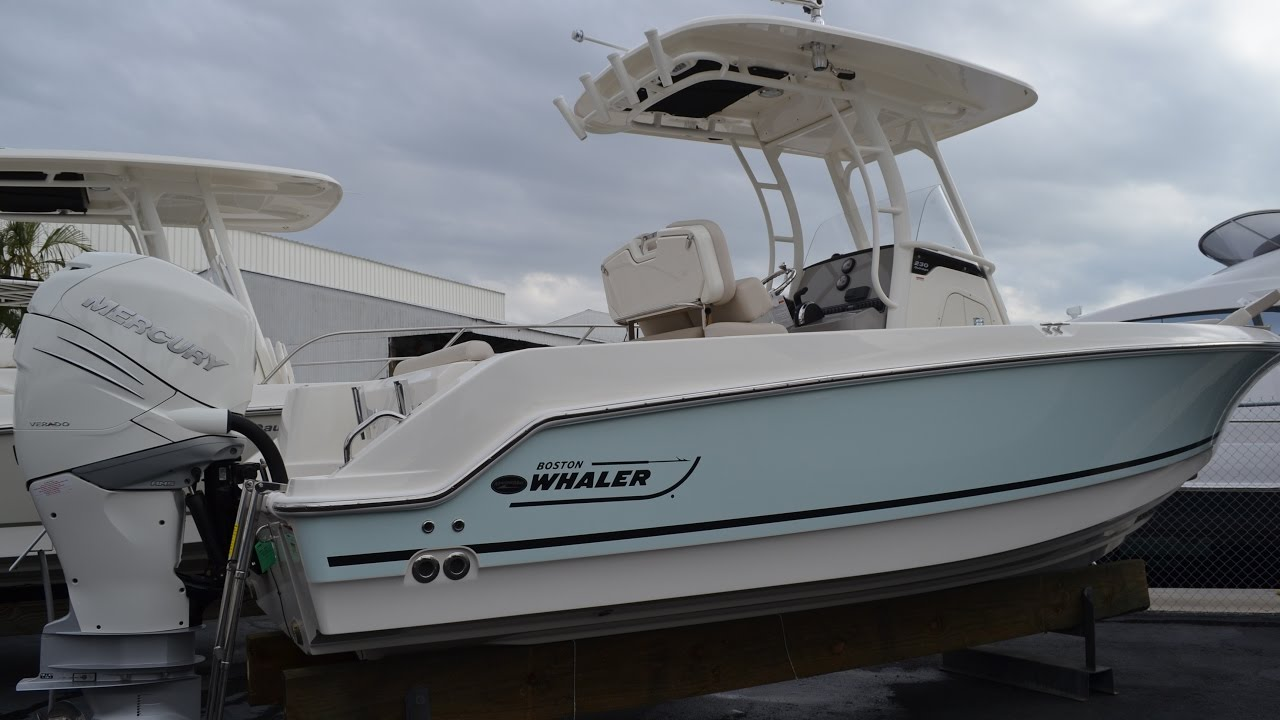 2017 Boston Whaler 230 Outrage For Sale at MarineMax Naples Yacht Center