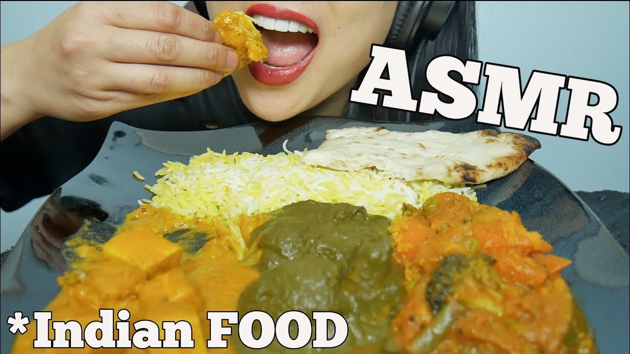 Asmr Indian Food Messy Eating Sounds No Talking Sas Asmr Youtube Hi guys indian food today. asmr indian food messy eating sounds no talking sas asmr
