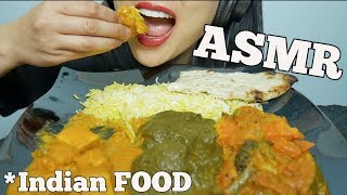 ASMR Indian FOOD (MESSY, EATING SOUNDS) NO TALKING | SAS-ASMR