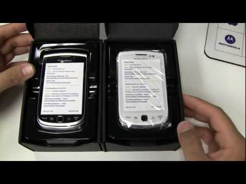 Official Blackberry Torch 9810 Unboxing (1080p HD)