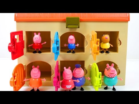 Mejores Videos Para Niños Aprendiendo Colores - Peppa Pig Friends and Family Clinic Learning Colors
