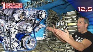 Space Engineers T2 #12,5 ⚙️Proyecto MegaMotor⚙️ RELAX MODE. Gameplay Español