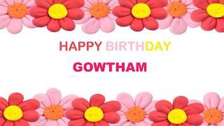Gowtham   Birthday Postcards & Postales - Happy Birthday