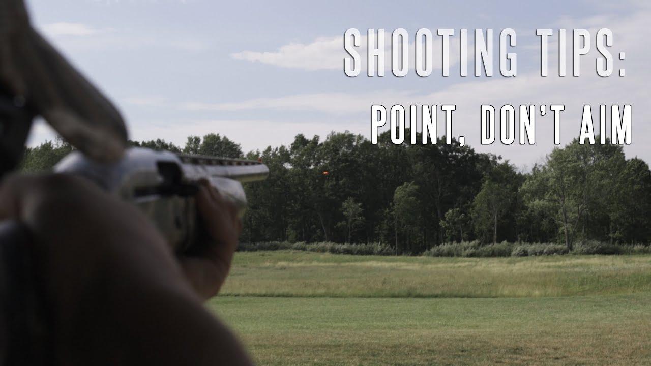 Don't Aim, Point The Shotgun: Tips For Better Shotgun Wing Shooting & Duck  Hunting