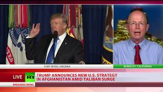 Military-led nation building no more: Trump announces strategy change