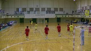 20180204九州高等学校ハンドボール選抜大会 男子 決勝 大分vs瓊浦(第1延長1/2)