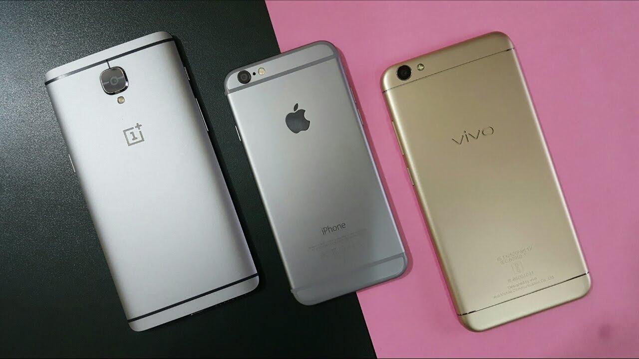 VIVO SMARTPHONE VS IPHONE
