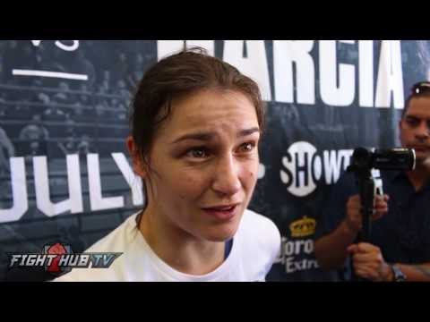 """Katie Taylor on Mayweather McGregor """"Mayweather Is Not Gonna Be Easy To Hit"""""""