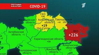 В жёлтой и красной зоне коронавирус в Казахстане