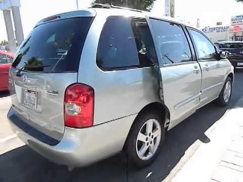 2002 Mazda Mpv Es Minivan 4d Los Angeles Ca 420488 Youtube