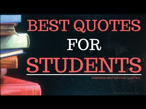 Motivational Quotes For Students To Study Hard – Inspirational Quotes for Students Success