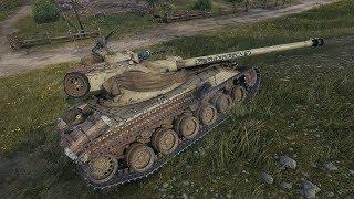 World of Tanks Bat.-Chatillon 25 t (skin) 9227 DMG - Overlord