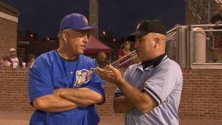 Wally Backman Discusses His Ejection With an Umpire (456)